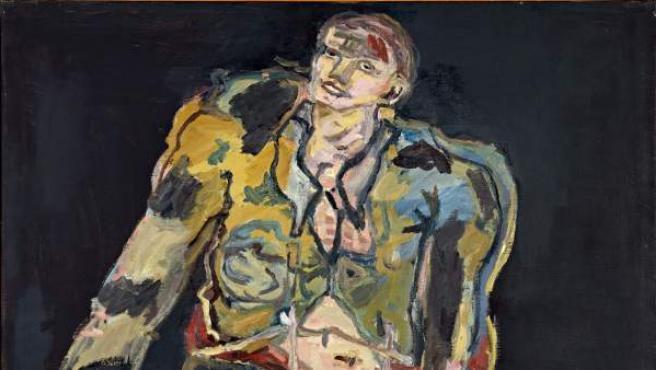 Georg Baselitz. Rebelde (Rebell), 1965. Óleo sobre lienzo. 162 x 130 cm. Tate: Adquirido en 1982, London © Georg Baselitz, 2017. Foto: Friedrich Rosenstiel, Colonia