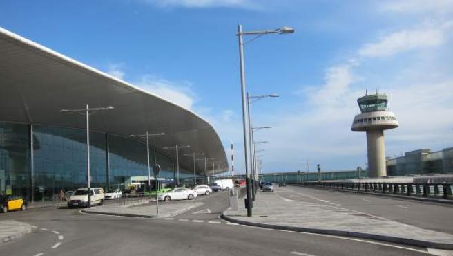 Terminal T1 Aeropuerto de El Prat de Barcelona.