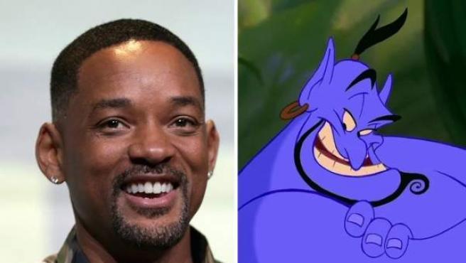 Will Smith será el Genio en la nueva versión de 'Aladdin'.