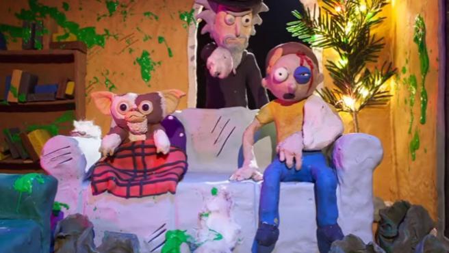 'Rick y Morty' invaden tus películas de terror favoritas