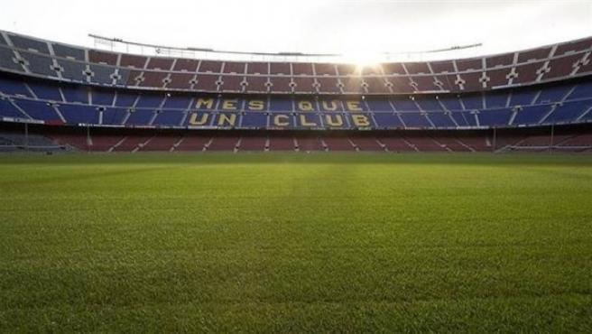 Vista del Camp Nou.