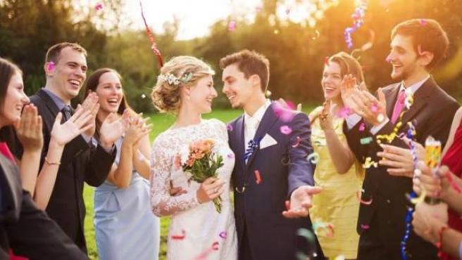 Una boda, en una imagen de archivo.