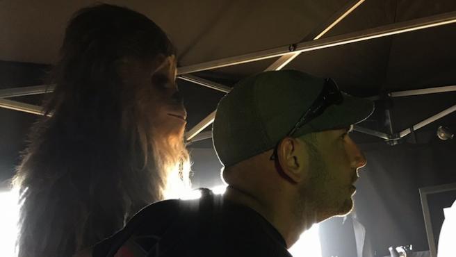 Ron Howard enseña a Chewbacca en la película de Han Solo