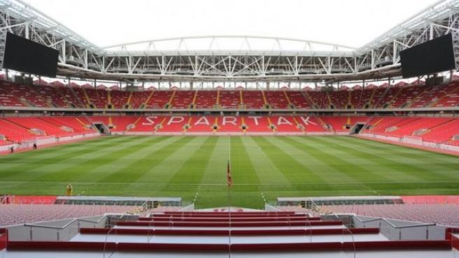 El Otkrytie Arena, También conocido como estadio Spartak.