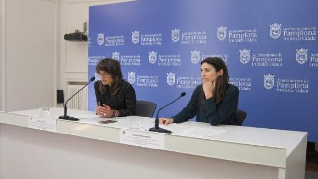 Maider Beloki y Maitena Muruzabal