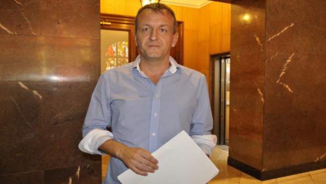 El consejero de Economía y Cultura de Zaragoza, Fernando Rivarés.