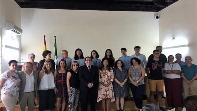 Alumnos de bachillerato de Cádiz premiados