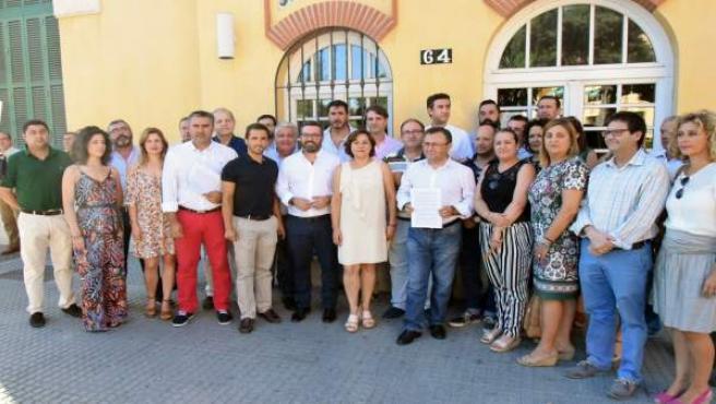 Registro psoe málaga subdelegación pfea obras retraso gobierno críticas