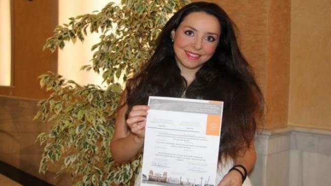 La profesora de la UCO Laura García