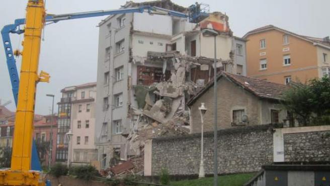 Desescombro del edificio
