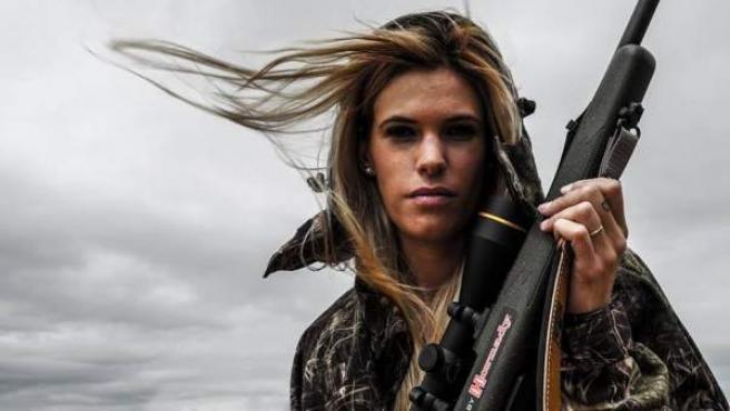 Una imagen de la cazadora Mel Capitán.