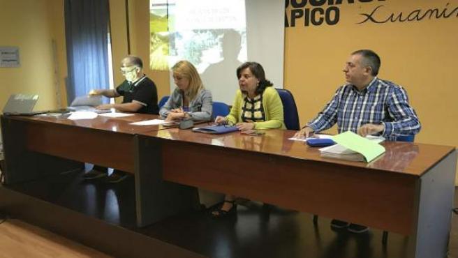 Reunión del órgano de gestión Las Ubiñas-La Mesa.