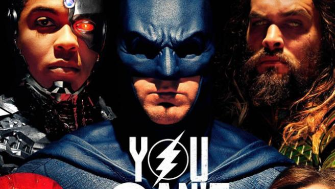 'Justice League' presenta un nuevo cartel a horas de su desembarco en la Comic-Con