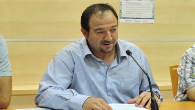 El presidente de la Diputación de Teruel y alcalde de Castellote, Ramón Millán