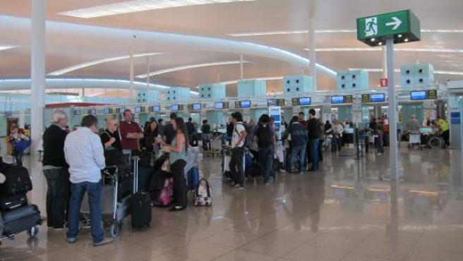 La Terminal T1 del Aeropuerto de El Prat.