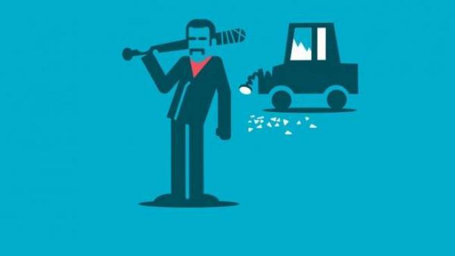 Si un ladrón fuerza la cerradura de tu vehículo para llevárselo pero no lo consigue, es un evidente intento de robo, no de vandalismo.