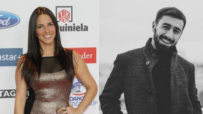 La presentadora Irene Junquera y el cantante Rayden.