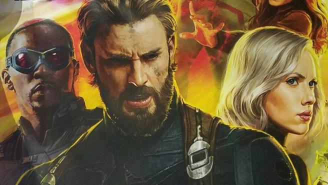 Sale a la luz un tríptico anunciando 'Vengadores: Infinity War'