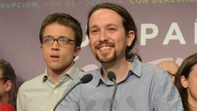 Errejón e Iglesias, en una imagen de archivo.