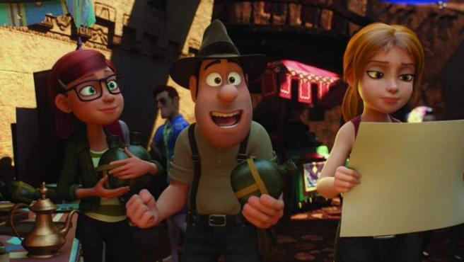 Tiffani, Tadeo y Sara buscan pistas en Turquía en 'Tadeo Jones 2: El Secreto del Rey Midas'