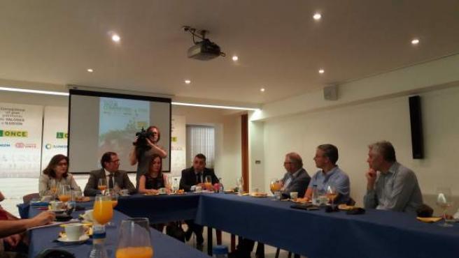 Valladolid: presentación datos de la ONCE