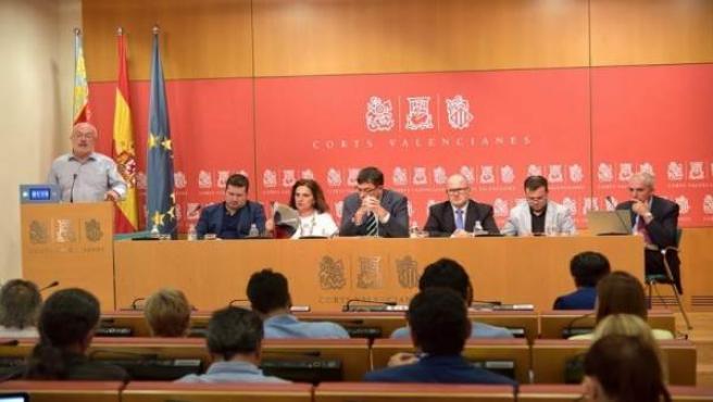 Diputación permanente Corts Valencianes