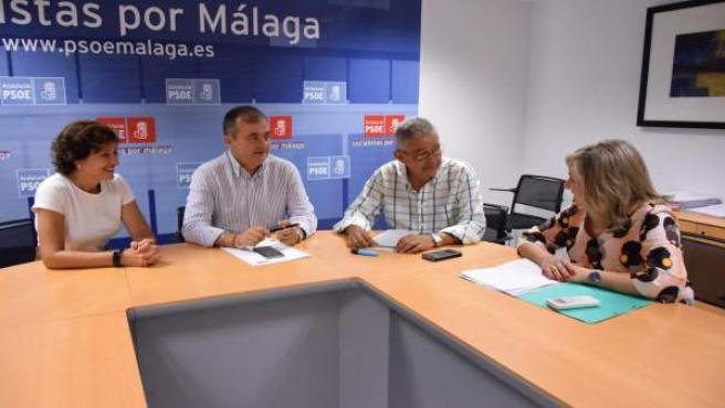 PSOE Málaga sobre sanidad y 35 horas