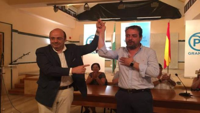 Sebastián Pérez y José Pazo