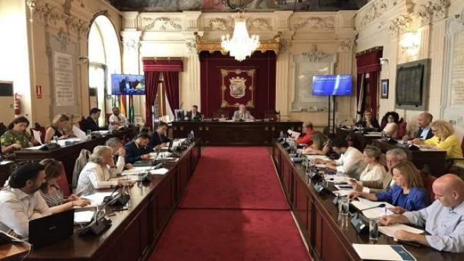 Pleno de Málaga. Junio