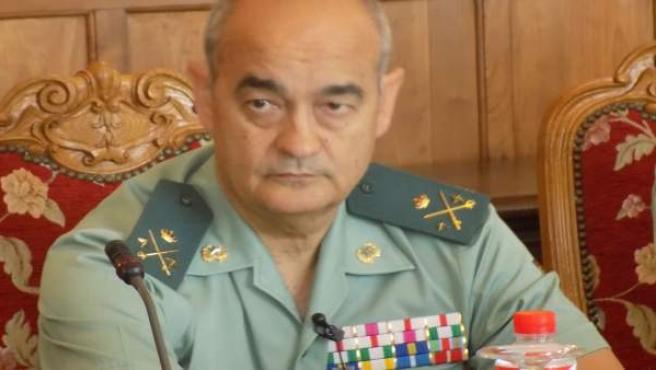 Francisco Díaz, general jefe del Estado Mayor