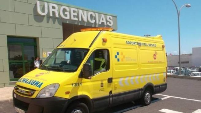 Ambulancia del Servicio de Urgencias Canario (SUC).