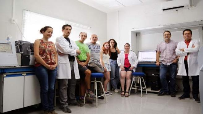 Investigadores de la UMa que han participado en un estudio contra el cáncer