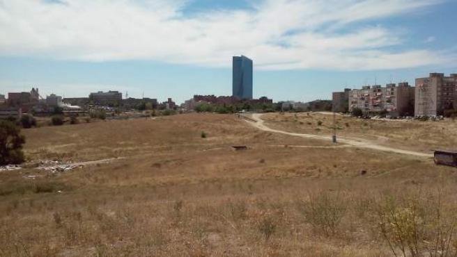 Parte de los terrenos en los que se desarrollará la nueva 'Operación Chamartín'.