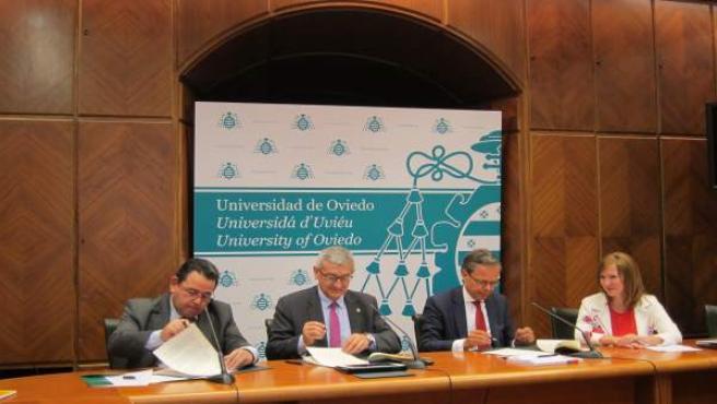 Presentación de la cátedra de emprendimiento Capgemini-Caja Rural
