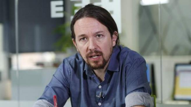 """El líder de Podemos, Pablo Iglesias, sitúa ya a Íñigo Errejón trabajando """"en un ámbito territorial diferente"""" al estatal y cree que su exnúmero dos """"está llamado a jugar un papel protagonista y determinante en la Comunidad de Madrid""""."""