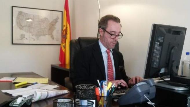 El ya excónsul español en Estados Unidos, Enrique Sardá Valls.