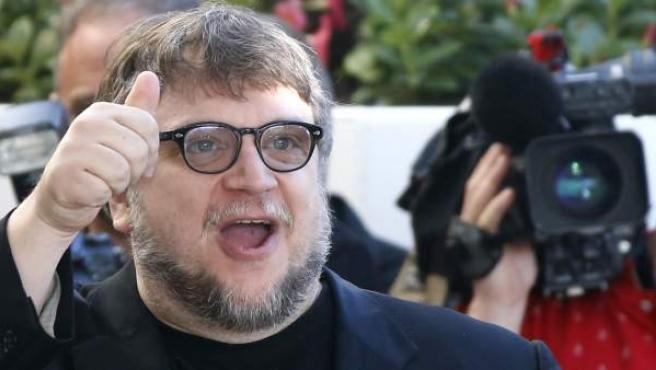 El director mexicano Guillermo del Toro, en el festival de Cannes de 2015.
