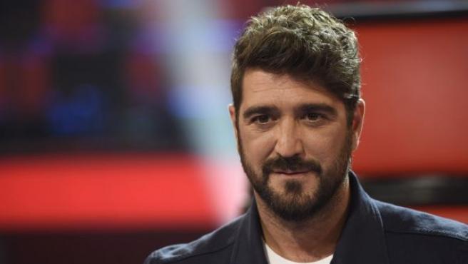 Antonio Orozco durante la presentación de la 3 edición de 'La Voz Kids'.