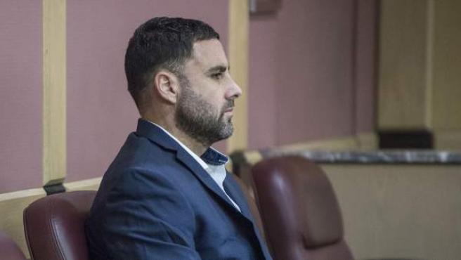 Pablo Ibar en una audiencia en el tribunal de Fort Lauderdale.