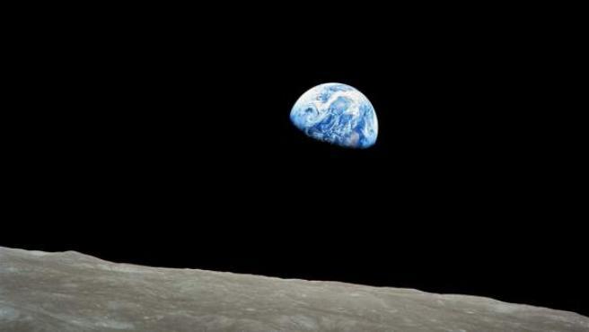 Imagen de la Tierra tomada desde el espacio