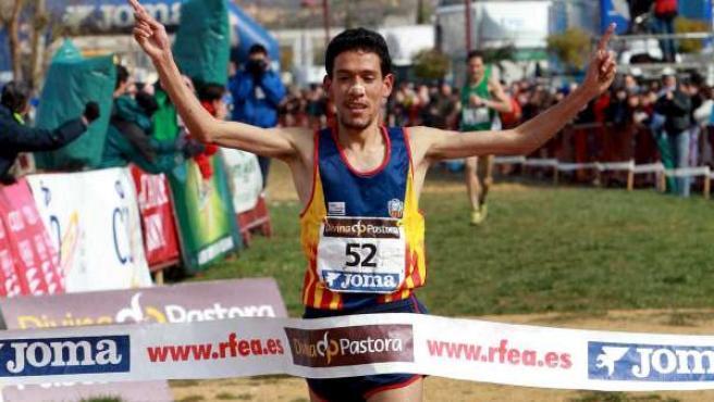 Ayad Lamdassem ganó el campeonato de España de cross.