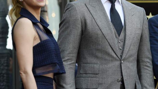 Los actores Chris Pratt y Anna Faris, en una imagen de archivo.