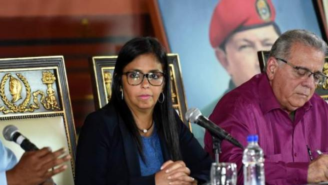 La presidenta de la nueva Asamblea Constituyente Venezolana, Delcy Rodríguez, en una imagen de archivo.