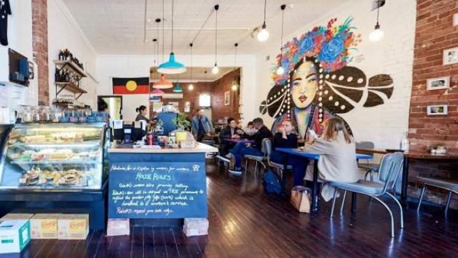 La cafetería Handsome Her en Australia.