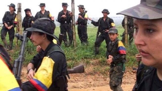 Niños soldado en las FARC.