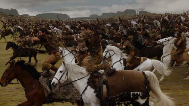 Una escena de 'Botines de Guerra', capítulo cuatro de 'Juego de Tronos'.