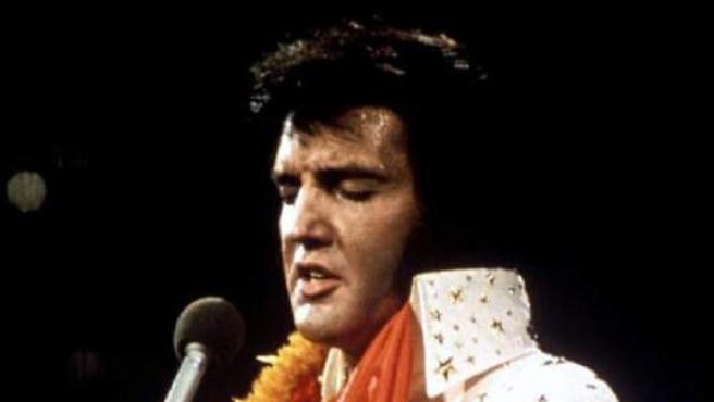Una imagen de Elvis Presley.