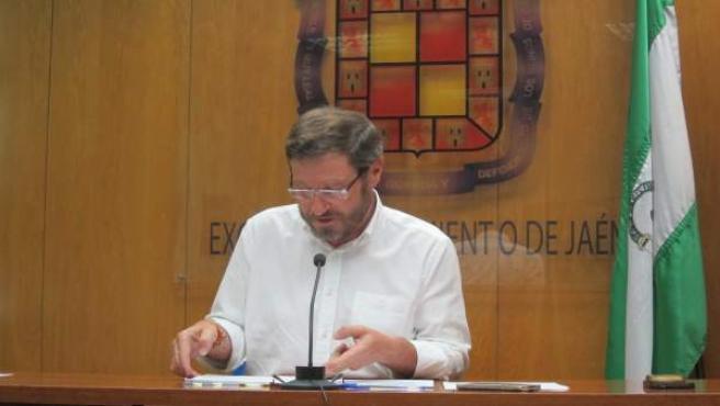 El coordinador general del PP de Jaén, Miguel Contreras.