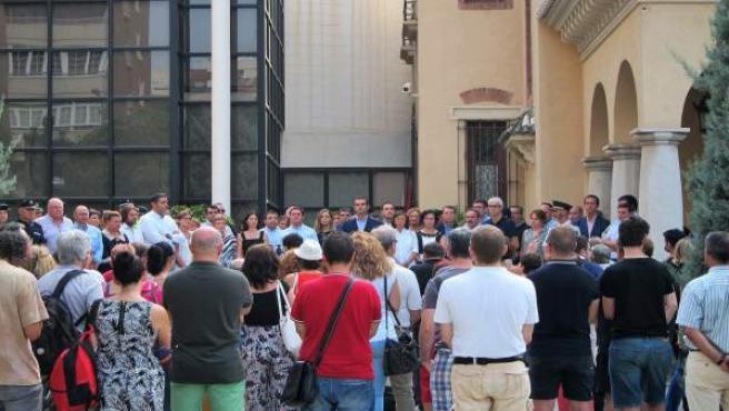 Minutos de silencio en Almería por los atentados de Cataluña