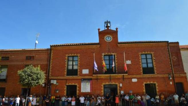 Concentración de condena en Cigales.